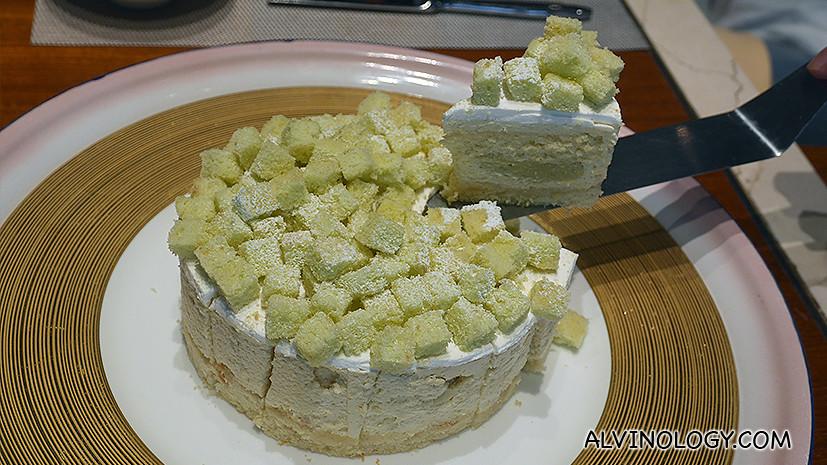 Mao Shang Wang durian cake!