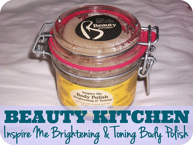 Beauty Kitchen Inspire Me Brightening & Toning Body Polish Review