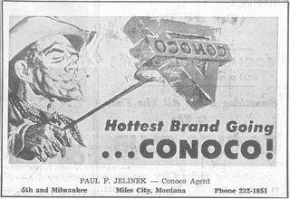 Conoco ad, Miles City