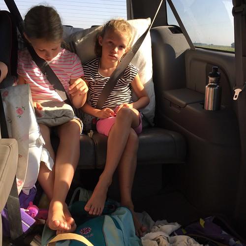 on the way to Wichita