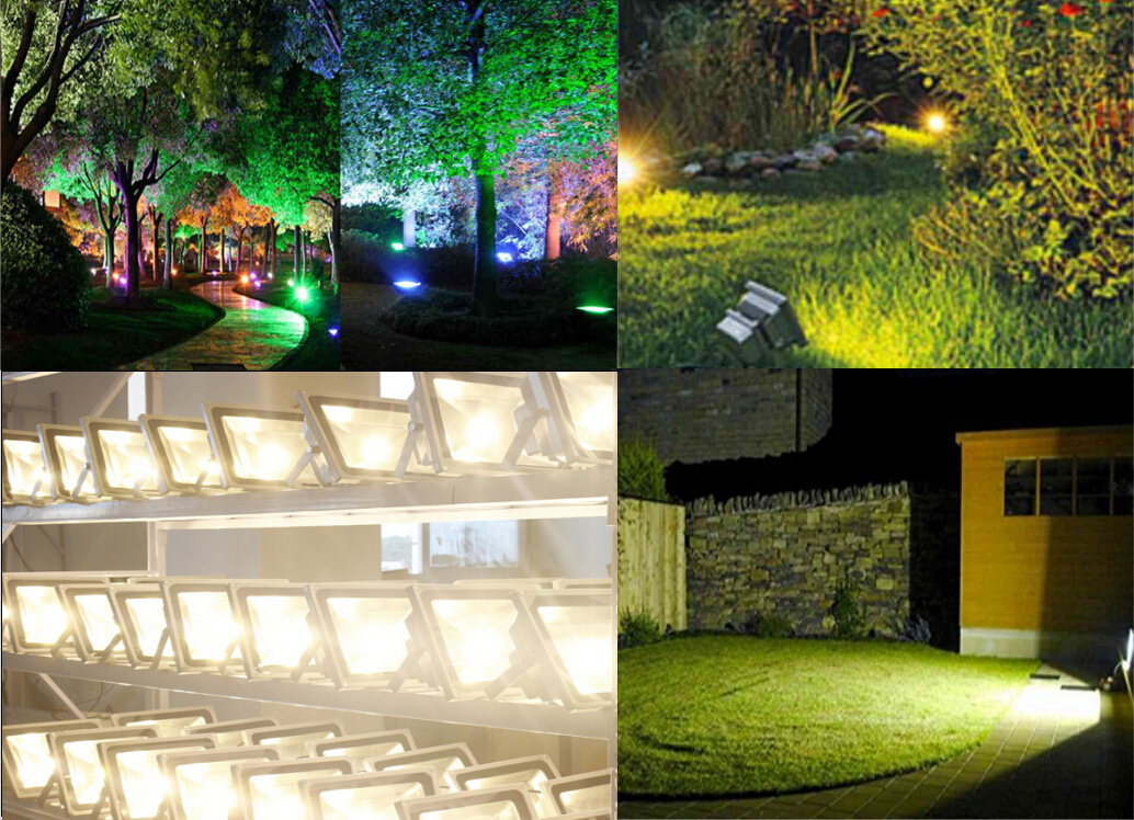 10w 20w 30w 50w Led Flood Light Outdoor Landscape Lamp Ebay