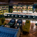 An overview of the seating area & bar @ the MGM Grand - National Harbor - Voltaggio Brothers Library Bar
