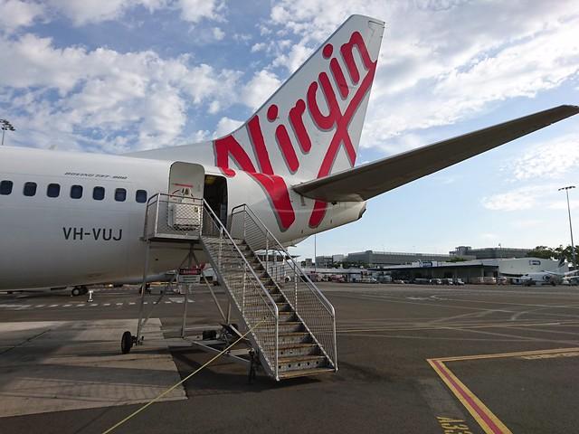 Virgin Australia VH-VUJ Boeing 737-8FE Rosebud Beach