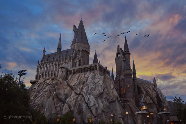 Hogwarts! From Universal Studios, Orlando