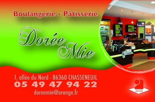 Dorée Mie boulangerie-pâteisserie MAITRE ARTISAN  à Chasseneuil-du-Poitou site du Futuroscope - RESTAURATION RAPIDE