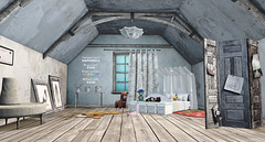 .. a place in the attic ..