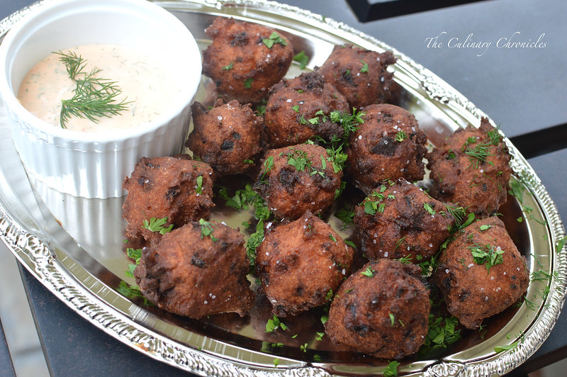 June 2015 Family Dinner-Hush Puppies