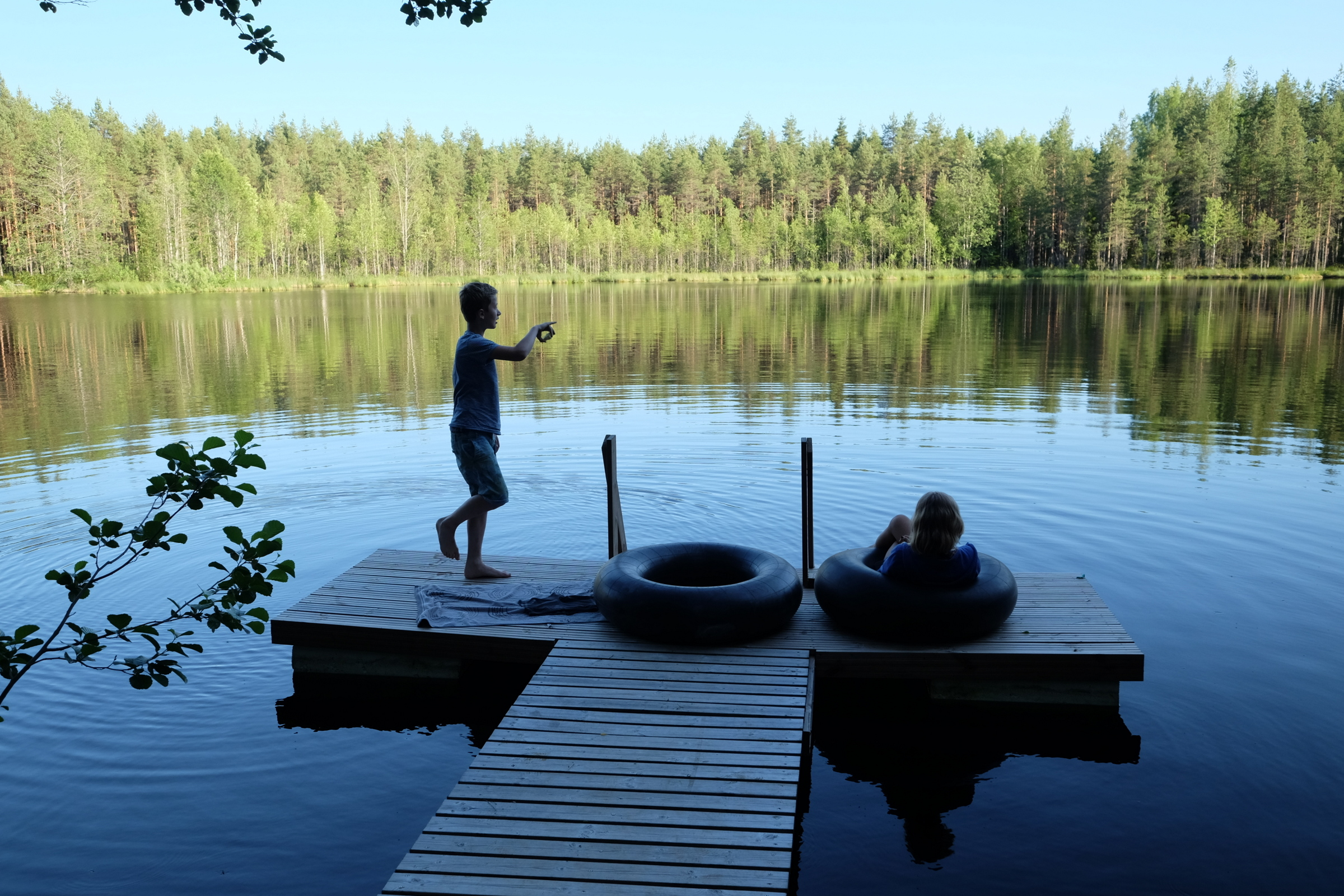 Finnland im Sommerhaus