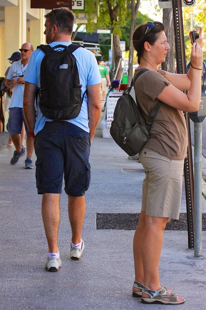 Sidewalk Backpacker