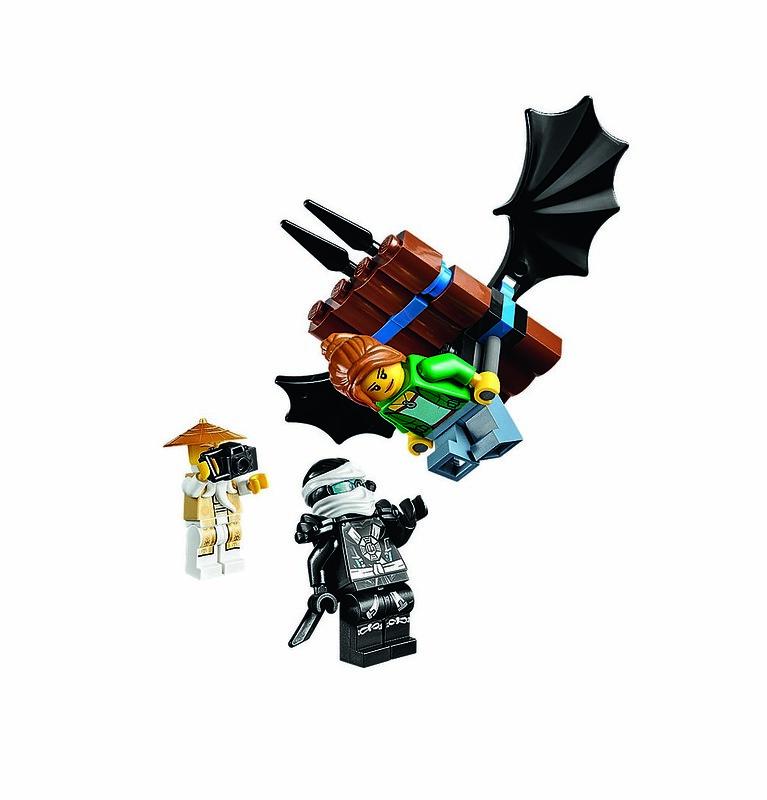 LEGO Ninjago 70751 - Flying Girl
