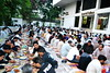 hupk posted a photo:Ramazan is a month of blessings for Muslims world over, at HU it's even more special as the University arranges an Iftari for All every day during the holy month. About a thousand people gather at HU Main Campus from surrounding areas and break fast together, followed by Magrib jamaat and Dinner. It's almost magical to view the sight of so many people enjoying Ramzan together at HU. Corporate Social Responsibility is a foundation stone of Hajvery University, we believe charitable causes complete us a Human beings, therefore during the holy month the University Management increases it's efforts to help the less privileged cope with the ongoing tough socio economic times in Pakistan.Members of the Faculty, and Students are welcome to join the Management & Staff of the University to take this opportunity to serve the communities we work in. May Almighty Allah accept our humble efforts and give us the strength to increase our efforts multifold, inshAllah.