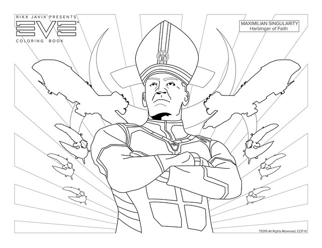 Max Singularity Coloring Page