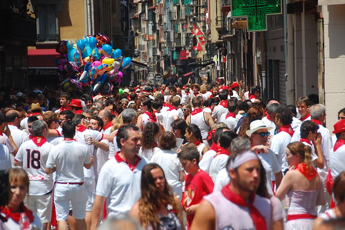 Party at San Fermin Pamplona