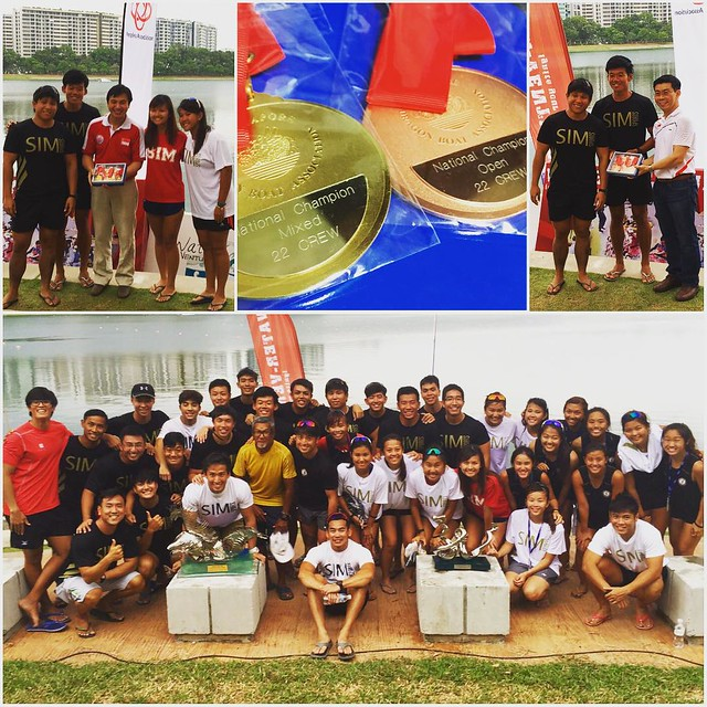 bringing the bond we forged during our university days to times like these is simply priceless; coming together as one SIM Alumni team and being able to compete on the same level with the best teams in Singapore is remarkable - Premier Mixed 22-crew champ