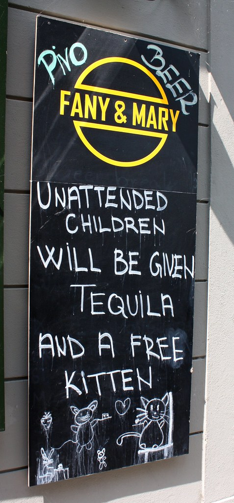 Cheeky Bar sign