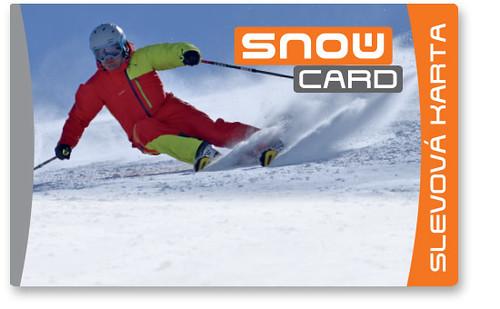 SNOWcard– předplatitelská karta časopisu SNOW