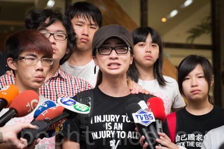 反課綱 學生代表