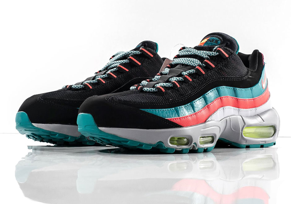 SOUTH BEACH IS BACK THANKS TO THE NIKE AIR MAX 95 1