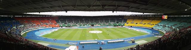 Panoramabild des Ernst-Happel-Stadions