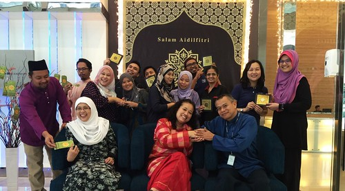 Office Pre-Raya Photo Session