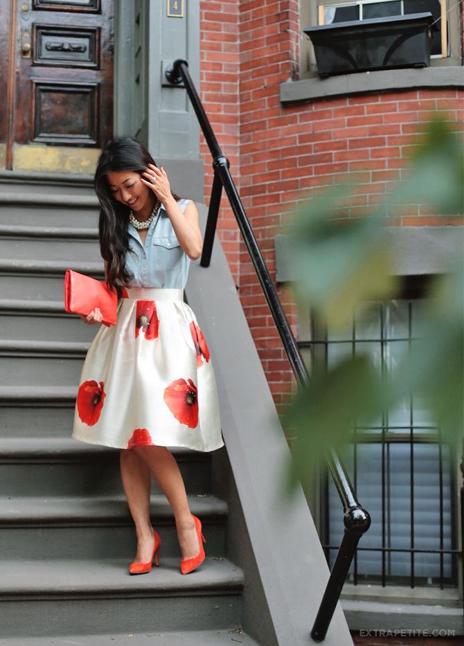 floral full skirt petites2