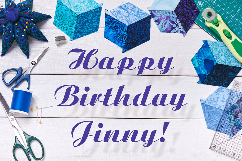 Happy Birthday Jinny