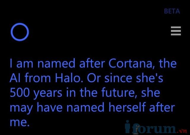 Phỏng vấn Cortana trợ lý ảo hài hước của Microsoft