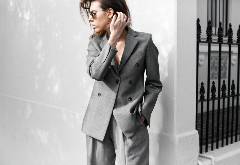 modern legacy, fashion blog, grey, street style, suit, Ellery blazer, MyChameleon, minimal, monochrome, workwear (1 of 1)