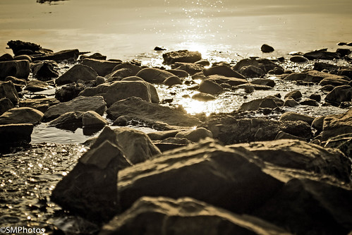 water sunrise reflections river pennsylvania stones nj pa riverbed newhope delawareriver
