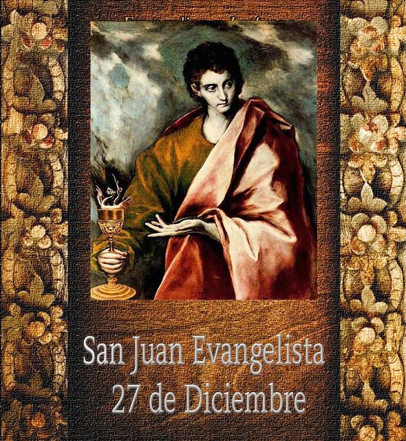 San Juan Evangelista.(†Dedicado  al P.Cotallo)