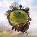 Westacre Village Green Tiny Planet by Stephen Durrant / Wildlife