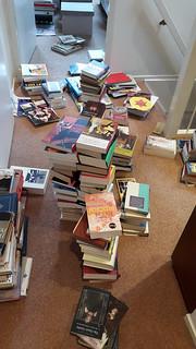 Rearranging books