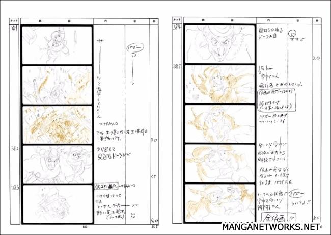 32277262414 b8748f01eb o 16 Storyboards của Studio Ghibli sẽ khiến bạn muốn xem lại Movie ngay lập tức !!