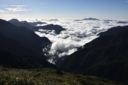 能高越嶺道-光被八表雲海