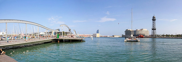 Barcelona - Port Vell panorama 1