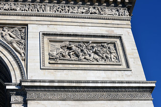 Image of Arc de Triomphe near Paris 08. hbarrison harveybarrison france paris