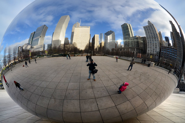 The Bean, la alubia de Chicago con forma de huevo