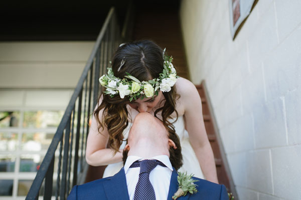 Celine Kim Photography Bellwoods Brewery intimate city wedding Toronto vintage ttc streetcar-89