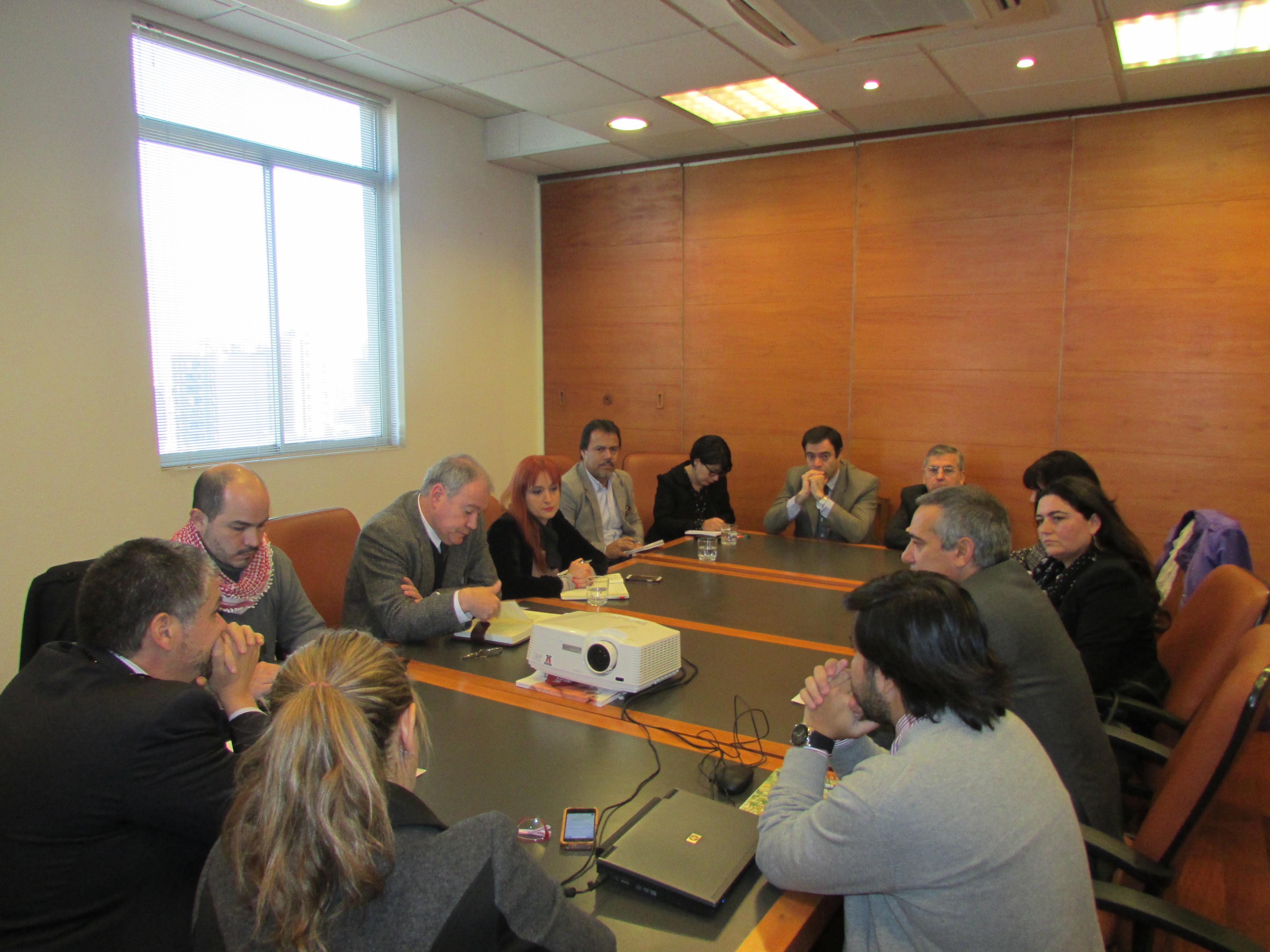 Reunión con Dipres por estado de tramitación ley sobre ADP - 11 Junio 2015