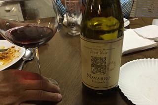 Maine - Lake Pushaw Navarro Vineyard Pinot Noir