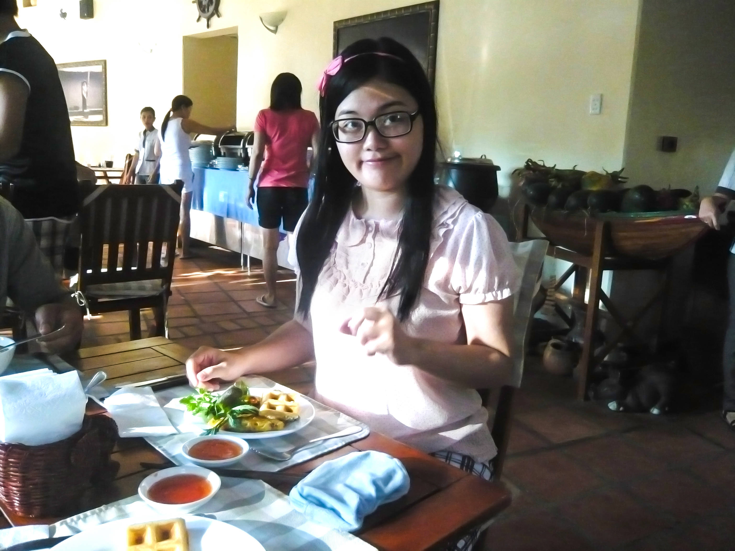 Breakfast at Sai Gon Mui Ne resort