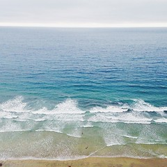 The Pacific #torreypines #lajolla #sandiego #pacificocean #ocean #sea #waves