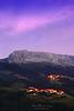 Itxina mountain with Zaloa and Urigoiti villages