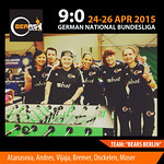 2015, April German Bundesliga - Medebach