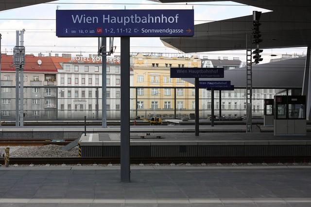 [213/365] Der neue Hauptbahnhof (in Teilbetrieb) III | Wien Hbf