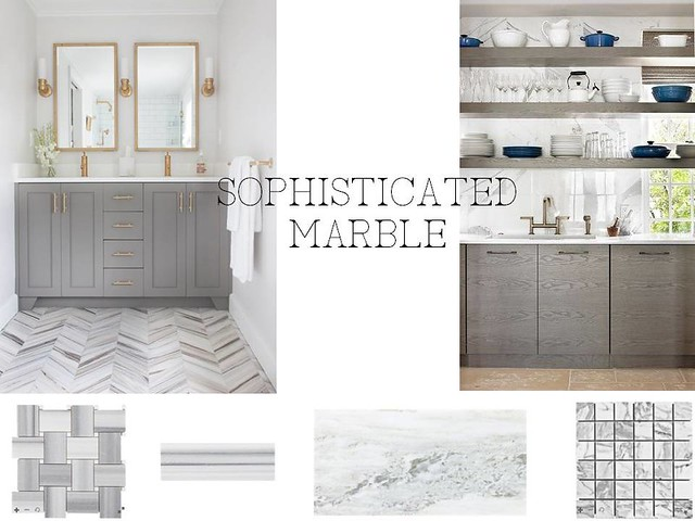 sophisticated marble
