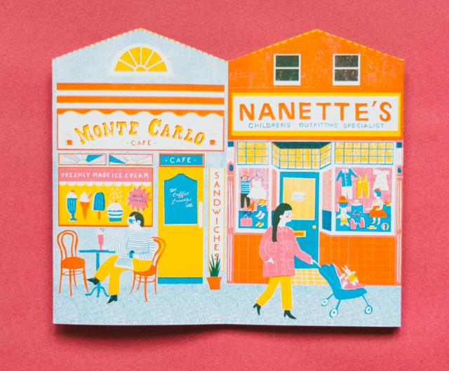 up my street - monte carlo cafe and nanette's outfitters