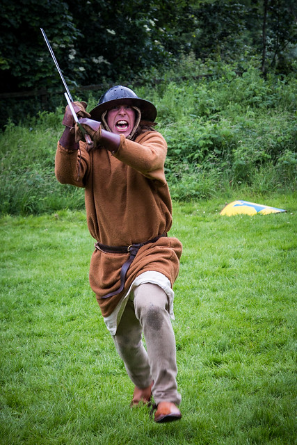 Rumbling Romans & Wicked Warriors at Castle Fraser