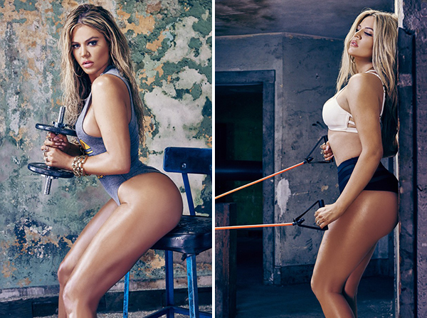 Khloe Kardashian for Unretouched Photos Complex Magazine