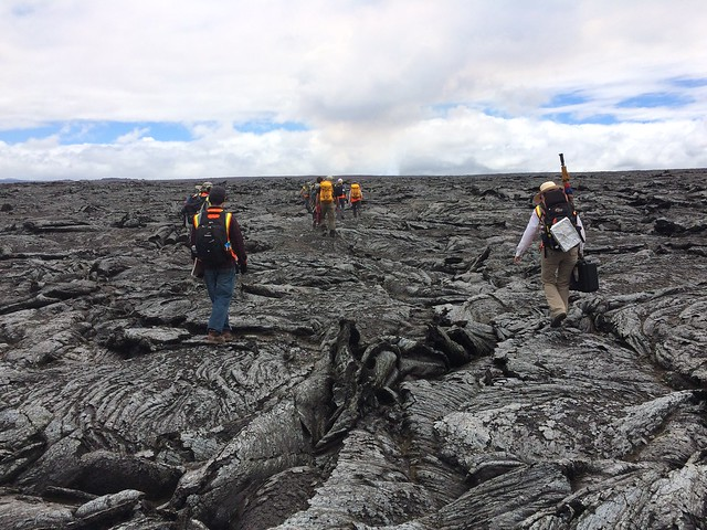 University Students Join NASA on Trip to Hawaiian Volcano